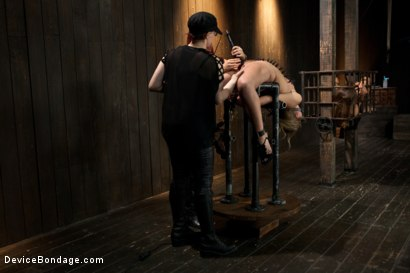 Photo number 7 from Chastity Lynn - Cum Begging Cunt - Live Show Part 3 shot for Device Bondage on Kink.com. Featuring Chastity Lynn in hardcore BDSM & Fetish porn.