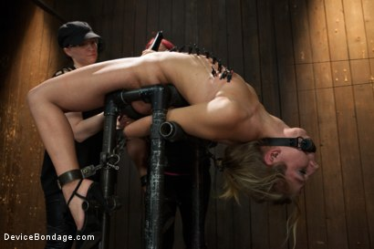 Photo number 10 from Chastity Lynn - Cum Begging Cunt - Live Show Part 3 shot for Device Bondage on Kink.com. Featuring Chastity Lynn in hardcore BDSM & Fetish porn.