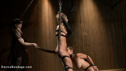 Photo number 12 from Chastity Lynn - Cum Begging Cunt - Live Show Part 4 shot for Device Bondage on Kink.com. Featuring Chastity Lynn in hardcore BDSM & Fetish porn.