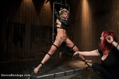 Photo number 6 from Chastity Lynn - Cum Begging Cunt - Live Show Part 4 shot for Device Bondage on Kink.com. Featuring Chastity Lynn in hardcore BDSM & Fetish porn.
