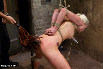 Photo number 13 from Tough Blonde Bombshell & Fan Favorite Lorelei Lee - Complete Edited Live Show shot for Hogtied on Kink.com. Featuring Lorelei Lee and Mark Davis in hardcore BDSM & Fetish porn.