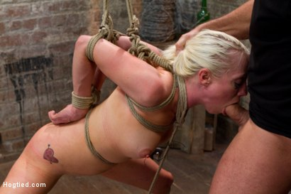 Photo number 11 from Tough Blonde Bombshell & Fan Favorite Lorelei Lee - Complete Edited Live Show shot for Hogtied on Kink.com. Featuring Lorelei Lee and Mark Davis in hardcore BDSM & Fetish porn.