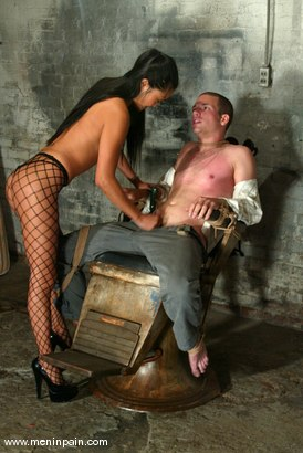 Photo number 3 from Lucy Lee and Jason Bays shot for Men In Pain on Kink.com. Featuring Lucy Lee and Jason Bays in hardcore BDSM & Fetish porn.