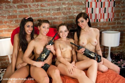Photo number 15 from The Final FuckMance: Princess Donna and Her Gang Bang Remy LaCroix shot for Fucking Machines on Kink.com. Featuring Remy LaCroix, Lyla Storm, Ariel X, Princess Donna Dolore and Mickey Mod in hardcore BDSM & Fetish porn.