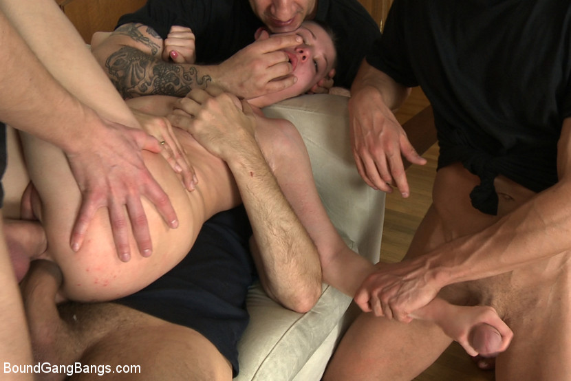 Teen Swinger Club Gangbang