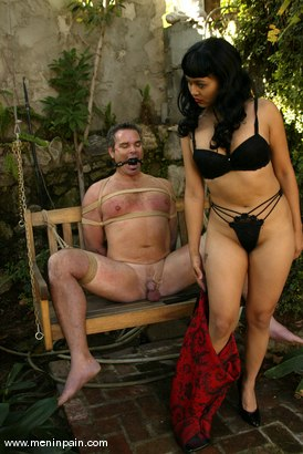 Photo number 3 from Mika Tan and Frank Stone shot for Men In Pain on Kink.com. Featuring Mika Tan and Frank Stone in hardcore BDSM & Fetish porn.
