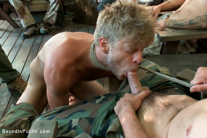 Photo number 2 from Logan Stevens is turned into a sex slave at a campground shot for Bound in Public on Kink.com. Featuring Logan Stevens and Christian Wilde in hardcore BDSM & Fetish porn.