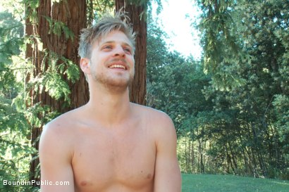 Photo number 15 from Logan Stevens is turned into a sex slave at a campground shot for Bound in Public on Kink.com. Featuring Logan Stevens and Christian Wilde in hardcore BDSM & Fetish porn.
