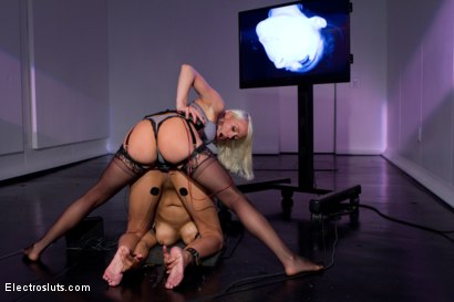 Photo number 5 from Welcome to Electrosluts, Beretta James!! shot for Electro Sluts on Kink.com. Featuring Lorelei Lee and Beretta James in hardcore BDSM & Fetish porn.