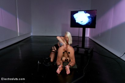 Photo number 11 from Welcome to Electrosluts, Beretta James!! shot for Electro Sluts on Kink.com. Featuring Lorelei Lee and Beretta James in hardcore BDSM & Fetish porn.