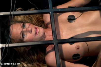 Photo number 3 from Caged MILF Suffers to Electrosex shot for Electro Sluts on Kink.com. Featuring Chanel Preston and Simone Sonay in hardcore BDSM & Fetish porn.