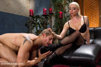 Photo number 6 from Small Penis Punishment shot for Divine Bitches on Kink.com. Featuring Logan Vaughn and Lorelei Lee in hardcore BDSM & Fetish porn.