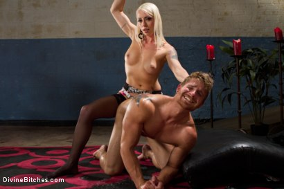 Photo number 7 from Small Penis Punishment shot for Divine Bitches on Kink.com. Featuring Logan Vaughn and Lorelei Lee in hardcore BDSM & Fetish porn.