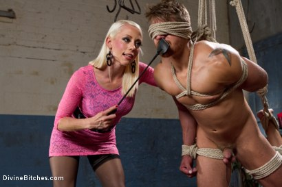 Photo number 3 from Small Penis Punishment shot for Divine Bitches on Kink.com. Featuring Logan Vaughn and Lorelei Lee in hardcore BDSM & Fetish porn.