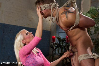 Photo number 15 from Small Penis Punishment shot for Divine Bitches on Kink.com. Featuring Logan Vaughn and Lorelei Lee in hardcore BDSM & Fetish porn.