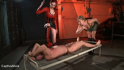 Photo number 5 from Naughty, Naughty Chad shot for Captive Male on Kink.com. Featuring Mz Berlin, Dia Zerva and Chad Rock in hardcore BDSM & Fetish porn.