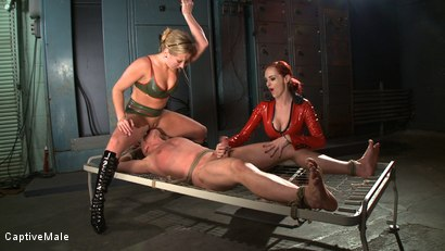 Photo number 6 from Naughty, Naughty Chad shot for Captive Male on Kink.com. Featuring Mz Berlin, Dia Zerva and Chad Rock in hardcore BDSM & Fetish porn.
