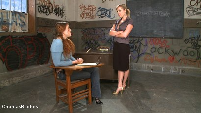Photo number 2 from Bad Teacher shot for Chantas Bitches on Kink.com. Featuring Adrianna Nicole and Sabrina Fox in hardcore BDSM & Fetish porn.