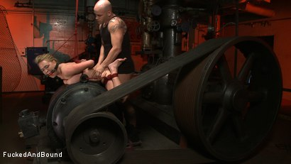 Photo number 9 from Lessons in Manners shot for Brutal Sessions on Kink.com. Featuring Krissy Lynn and Derrick Pierce in hardcore BDSM & Fetish porn.