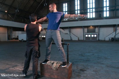 Photo number 1 from Robert Axel - Straight Muscle God shot for Men On Edge on Kink.com. Featuring Robert Axel in hardcore BDSM & Fetish porn.
