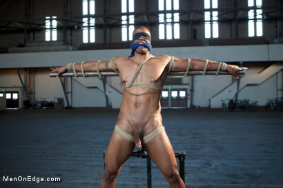Photo number 5 from Robert Axel - Straight Muscle God shot for Men On Edge on Kink.com. Featuring Robert Axel in hardcore BDSM & Fetish porn.
