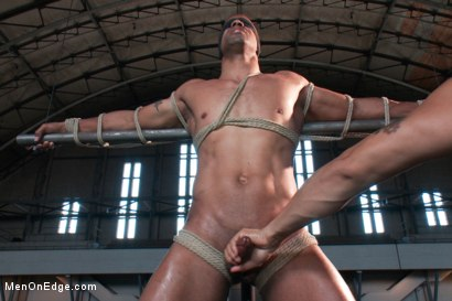 Photo number 4 from Robert Axel - Straight Muscle God shot for Men On Edge on Kink.com. Featuring Robert Axel in hardcore BDSM & Fetish porn.