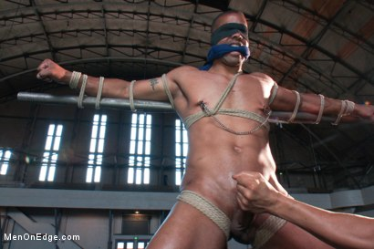 Photo number 7 from Robert Axel - Straight Muscle God shot for Men On Edge on Kink.com. Featuring Robert Axel in hardcore BDSM & Fetish porn.