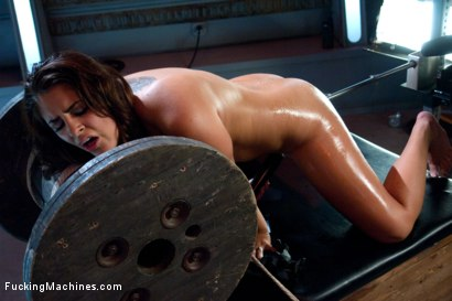 Photo number 11 from That Ass: Fucking Her from Behind with Big Machines shot for Fucking Machines on Kink.com. Featuring Bella Luciano in hardcore BDSM & Fetish porn.