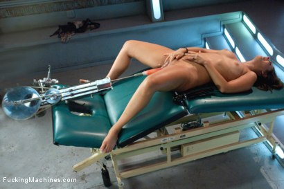 Photo number 3 from That Ass: Fucking Her from Behind with Big Machines shot for Fucking Machines on Kink.com. Featuring Bella Luciano in hardcore BDSM & Fetish porn.