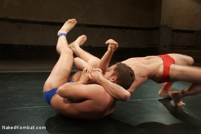Photo number 5 from Match #24679 Round 1 - DJ vs Newcomer Steve Sterling shot for Naked Kombat on Kink.com. Featuring Steve Sterling and DJ in hardcore BDSM & Fetish porn.