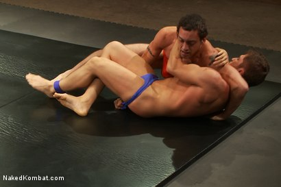 Photo number 6 from Match #24679 Round 1 - DJ vs Newcomer Steve Sterling shot for Naked Kombat on Kink.com. Featuring Steve Sterling and DJ in hardcore BDSM & Fetish porn.