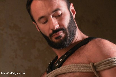 Photo number 1 from Wilfred Knight - Post Orgasm Torment in Mid Air shot for Men On Edge on Kink.com. Featuring Wilfried Knight in hardcore BDSM & Fetish porn.