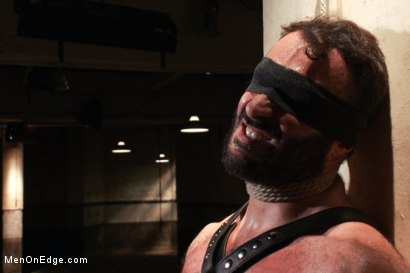 Photo number 5 from Wilfred Knight - Post Orgasm Torment in Mid Air shot for Men On Edge on Kink.com. Featuring Wilfried Knight in hardcore BDSM & Fetish porn.