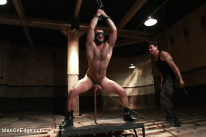 Photo number 9 from Wilfred Knight - Post Orgasm Torment in Mid Air shot for Men On Edge on Kink.com. Featuring Wilfried Knight in hardcore BDSM & Fetish porn.