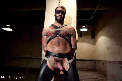 Photo number 6 from Wilfred Knight - Post Orgasm Torment in Mid Air shot for Men On Edge on Kink.com. Featuring Wilfried Knight in hardcore BDSM & Fetish porn.