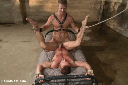 Photo number 13 from A Struggle for Power shot for Bound Gods on Kink.com. Featuring Jeremy Stevens and Dirk Caber in hardcore BDSM & Fetish porn.