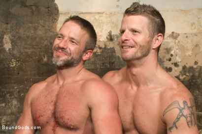 Photo number 15 from A Struggle for Power shot for Bound Gods on Kink.com. Featuring Jeremy Stevens and Dirk Caber in hardcore BDSM & Fetish porn.