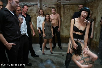 Photo number 11 from Amateur Model Disgraced at the Armory shot for Public Disgrace on Kink.com. Featuring Lorelei Lee, Kristine Kahill and Mark Wood in hardcore BDSM & Fetish porn.