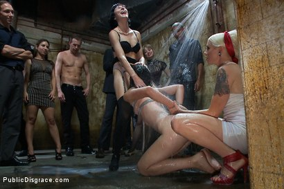 Photo number 12 from Amateur Model Disgraced at the Armory shot for Public Disgrace on Kink.com. Featuring Lorelei Lee, Kristine Kahill and Mark Wood in hardcore BDSM & Fetish porn.