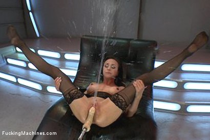 Photo number 13 from The Queen: Cytherea Meets the Machines with Her Pussy shot for Fucking Machines on Kink.com. Featuring Cytherea in hardcore BDSM & Fetish porn.