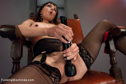 Photo number 2 from The Queen: Cytherea Meets the Machines with Her Pussy shot for Fucking Machines on Kink.com. Featuring Cytherea in hardcore BDSM & Fetish porn.