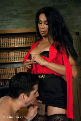 Photo number 12 from If only Traffic Court Really Ended in Getting Fucked by the Ts Judge shot for TS Seduction on Kink.com. Featuring Vaniity and S. Jack in hardcore BDSM & Fetish porn.