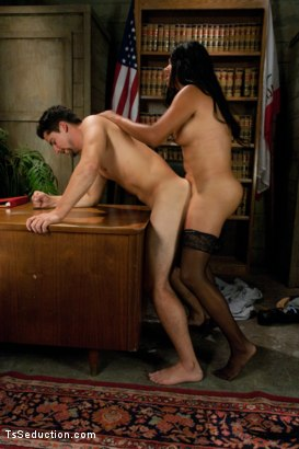 Photo number 8 from If only Traffic Court Really Ended in Getting Fucked by the Ts Judge shot for TS Seduction on Kink.com. Featuring Vaniity and S. Jack in hardcore BDSM & Fetish porn.