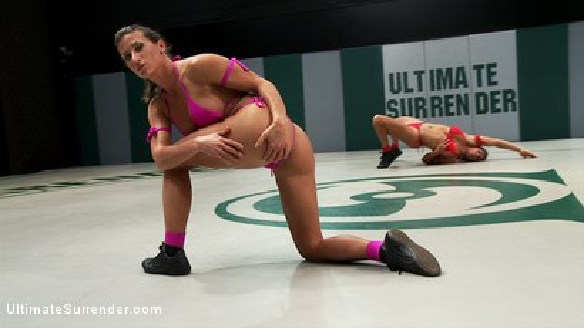 Photo number 2 from Ultimate Surrender 2012 Championship Match shot for Ultimate Surrender on Kink.com. Featuring Ariel X and Izamar Gutierrez in hardcore BDSM & Fetish porn.
