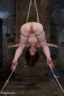 Photo number 11 from Blue Eyed Beauty Sarah Shevon Challenged Classic HogTied Style shot for Hogtied on Kink.com. Featuring Danny Wylde and Sarah Shevon in hardcore BDSM & Fetish porn.