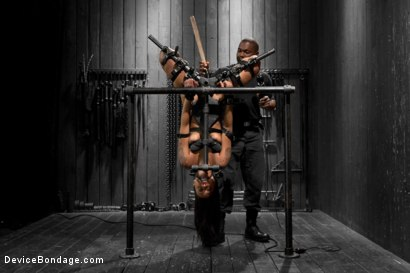 Photo number 11 from Skin Diamond gets roughed up by Jack Hammer in their first scene together shot for Device Bondage on Kink.com. Featuring Skin Diamond and Jack Hammer in hardcore BDSM & Fetish porn.