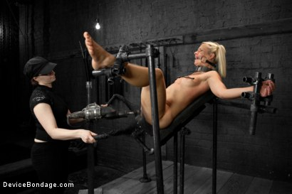 Photo number 13 from Anikka Albrite shot for Device Bondage on Kink.com. Featuring Claire Adams and Anikka Albrite in hardcore BDSM & Fetish porn.