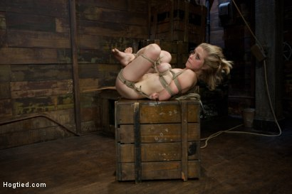 Photo number 13 from Innocent Penny Pax Faced Fucked by Mark Davis in Extreme Bondage shot for Hogtied on Kink.com. Featuring Penny Pax and Mark Davis in hardcore BDSM & Fetish porn.