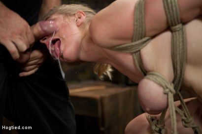 Photo number 14 from Innocent Penny Pax Faced Fucked by Mark Davis in Extreme Bondage shot for Hogtied on Kink.com. Featuring Penny Pax and Mark Davis in hardcore BDSM & Fetish porn.