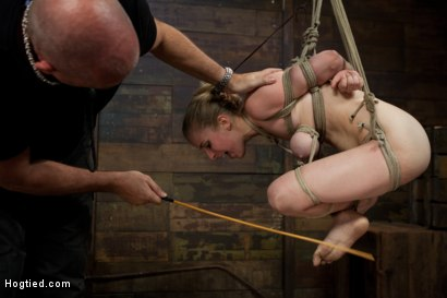 Photo number 15 from Innocent Penny Pax Faced Fucked by Mark Davis in Extreme Bondage shot for Hogtied on Kink.com. Featuring Penny Pax and Mark Davis in hardcore BDSM & Fetish porn.